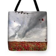 Poppies Dropped  Tote Bag