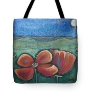 Poppies For Barbara And Paul Tote Bag