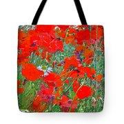 Poppies II Tote Bag