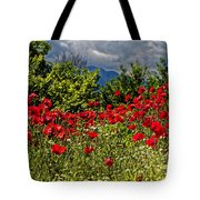 Poppies In Remembrance Tote Bag