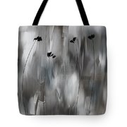 Poppies Upheaval Tote Bag