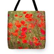 Poppies Vii Tote Bag