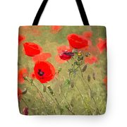 Poppies Viii Tote Bag