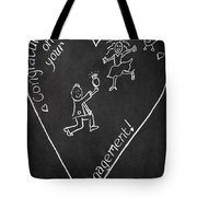 Popping The Question Tote Bag