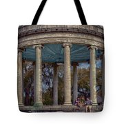 Popps Bandstand In City Park Nola Tote Bag