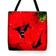 Giant Poppy Art  Tote Bag
