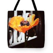 Poppy Art Poster Print Tote Bag