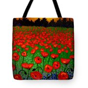 Poppy Carpet  Tote Bag