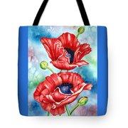 Poppy Duet Tote Bag