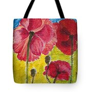 Poppy Family Tote Bag