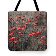 Poppy Field Tote Bag