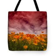 Poppy Fields Forever Tote Bag