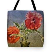 Poppy Flowers Tote Bag