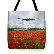 Poppy Fly Past Tote Bag
