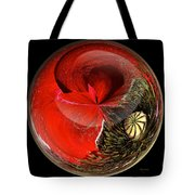 Poppy Globe Tote Bag