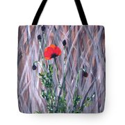 Poppy In The Wild Tote Bag
