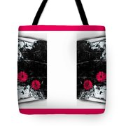 Poppy Jasper Stone Painting With Borders 7 Tote Bag