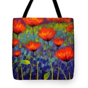 Poppy Meadow   Cropped 2 Tote Bag