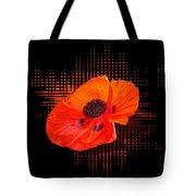 Poppy Passion Square Tote Bag