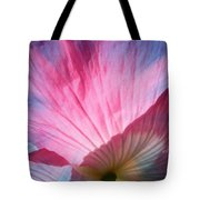 Poppy Rays Collage Tote Bag