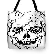 Popskull Tote Bag