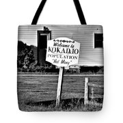 Population Not Many Tote Bag