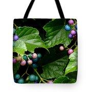 Porcelain Berries Tote Bag