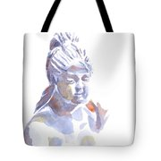 Porcelain Maiden In Watercolor Tote Bag
