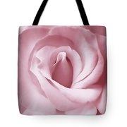 Porcelain Pink Rose Flower Tote Bag