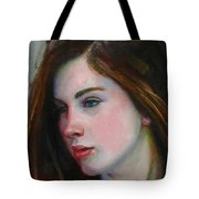 Porcelain Skin Tote Bag by Sarah Parks