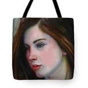 Porcelain Skin Tote Bag