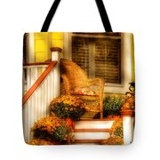 Porch - In The Light Of Autumn Tote Bag