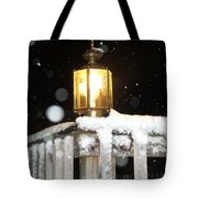 Porch Lamp Tote Bag by Nelson Watkins