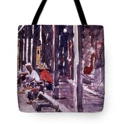 Afternoon People Tote Bag