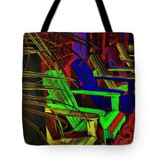 Neon Porch Perches Tote Bag