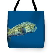 Porcupine Pufferfish Tote Bag