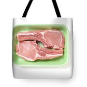 Pork Ribs With Fillet Tote Bag