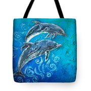 Porpoise Pair Tote Bag