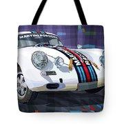 Porsche 356 Martini Racing Tote Bag