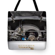 Porsche 356b Super 90 Engine Tote Bag
