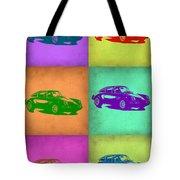 Porsche 911 Pop Art 2 Tote Bag by Naxart Studio