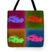 Porsche 911 Pop Art 3 Tote Bag