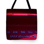 Porsche 911turbo S Tote Bag