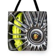 Porsche 918 Wheel Tote Bag