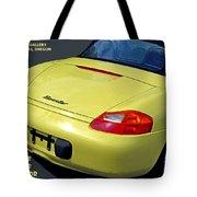 Porsche Boxster Posterior Tote Bag