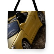 Porsche Car Tote Bag
