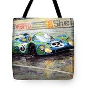 Porsche Psychedelic 917lh  1970  Le Mans 24  Tote Bag