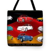 Porsche Times Nine Tote Bag