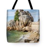 Port Blanc Pevenan Brittany France Tote Bag