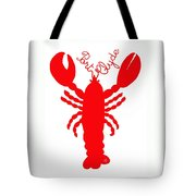 Port Clyde Maine Lobster With Feelers 201300605 Tote Bag